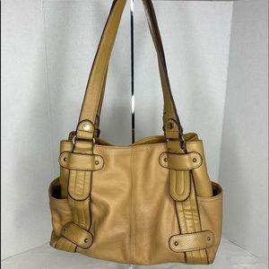 Beige Tignanello Shoulder Bag
